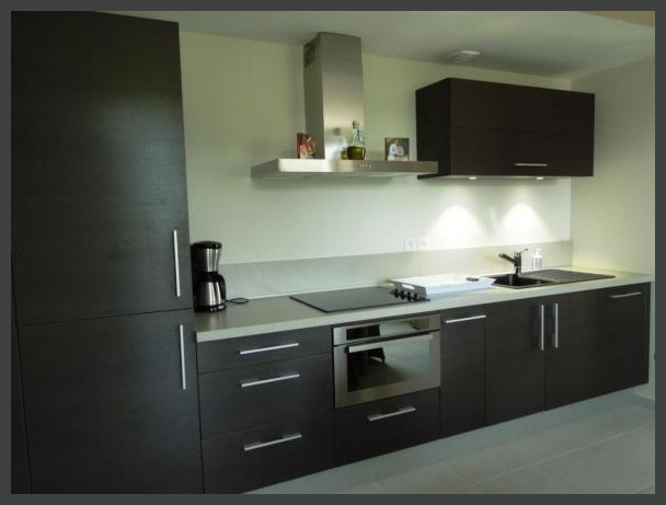 Modern uitgeruste keuken